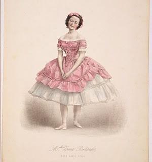 Antique Image – Lovely Pink Ballerina