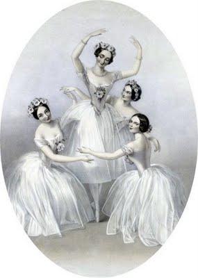 free antique clip art   beautiful ballerinas   the