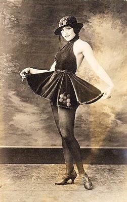 Vintage Image – Old Photo – Saucy Ballerina