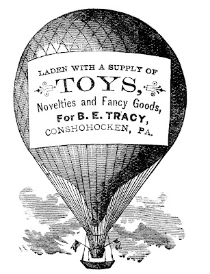 Advertising Clip Art – Hot Air Balloon – Steampunk
