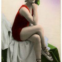 Bathing Beauty Vintage Image