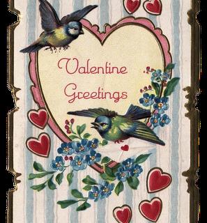 Free Clip Art – Vintage Valentine