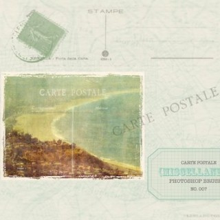 Vintage Postcard Photoshop Brush Download – From LeBlahg