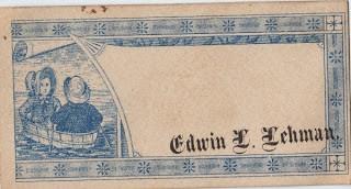 Blue Calling Card