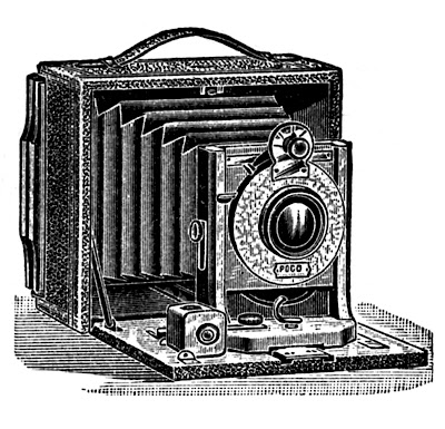 Antique Pictures – Camera, Stereoscope, Ear Trumpet