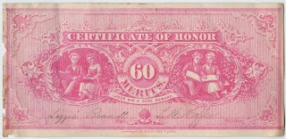 Currency – Certificates of Honor