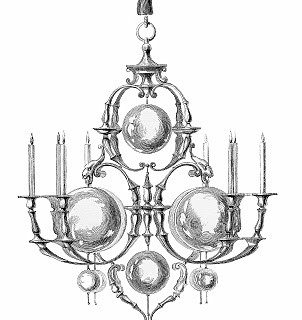 Chandelier Drawing Pencil