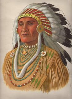 native americanindian chief the graphics fairy