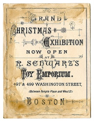 Fabulous Christmas Ephemera – Boston Toy Emporium