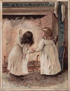 Christmas Eve – Victorian Advertsing Card