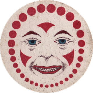 Early Game Piece – Clown Face