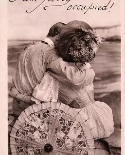 Free Victorian Clip Art – Romantic Couple
