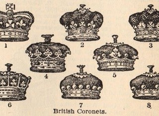 Vintage Clip Art – Crowns, Crowns & More Crowns