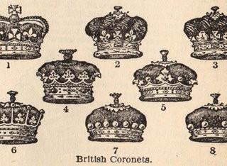Vintage Clip Art – Crowns, Crowns & More Crowns
