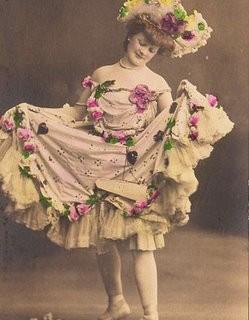 Victorian Dancing Girl