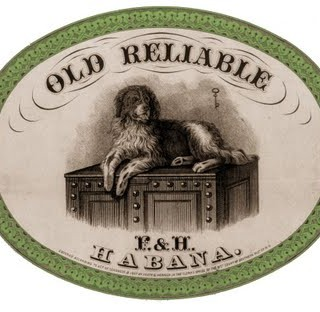 Free Vintage Clip Art – Old Labels
