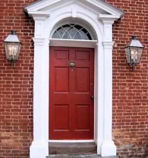 Free Graphic Image – Red Door – Gettysburg