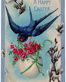 Vintage Clip Art – 3 Fabulous Easter Cards