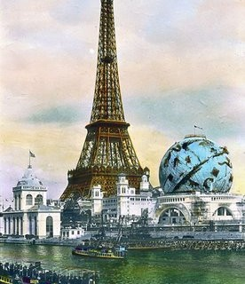 Old Postcard – Eiffel Tower