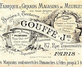Free Vintage Clip Art – Paris Advertising Ephemera