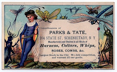Amazing Whimsical Fairy & Insects Trade Card – Label