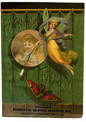 Vintage Clip Art – Beautiful Fairy Queen