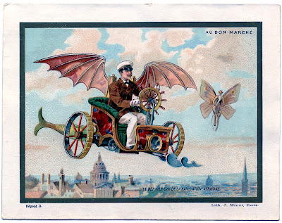 Steampunk Image – Flying Machine