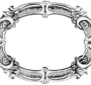 Vintage Clip Art – Fancy Frame