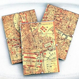 Craft Project – London Map Decor – DIY