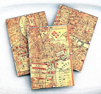 Craft Project – London Map Decor – DIY