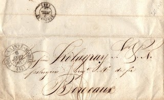 1843 French Letter