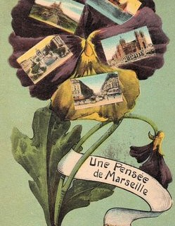 Charming Vintage French Postcard
