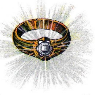 Vintage Clip Art – Awesome Diamond Ring