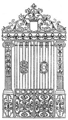 Vintage Image – Ornate Gate