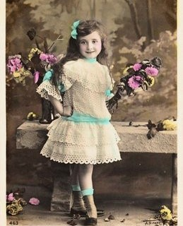 Vintage Postcard – Adorable Little Girl