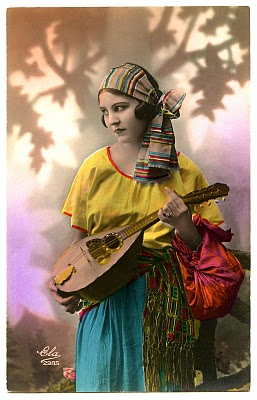 Vintage Image Fabulous Gypsy The Graphics Fairy