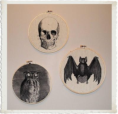 Crafty Project – Halloween Fabric Art