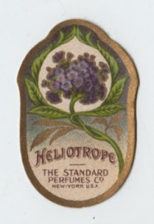 Victorian Perfume Label
