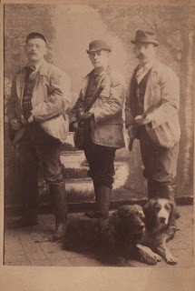 Old Photo – Men,Dogs, Hunting