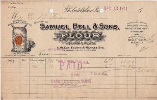 1911 Invoice