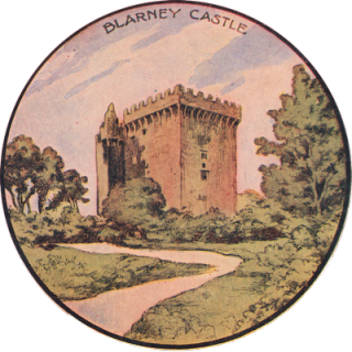 Free St Patrick's Day Clip Art – Blarney Castle