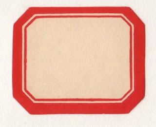 Classic Red & White Label