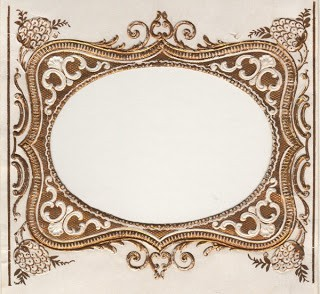 Ornate Label or Frame