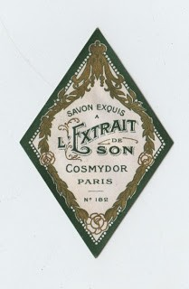 Gorgeous Paris Soap Label