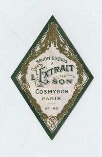 Gorgeous Paris Soap Label