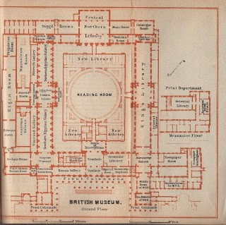 Map of The British Museum
