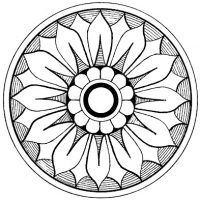 Ornamental Medallions Clip Art