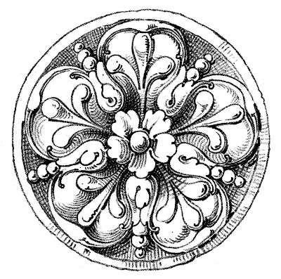 Old World Graphics – Medallions – Rosettes