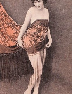 Vintage Postcard – Naughty Lady