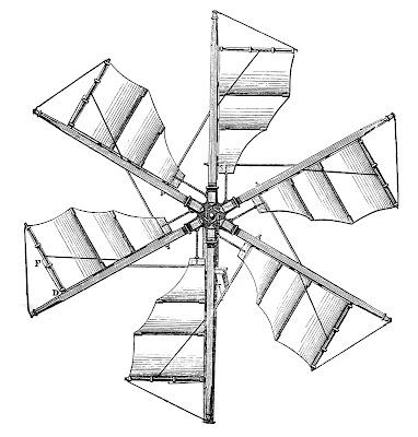 Steampunk Clip Art – Propellers – Windmills